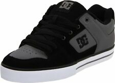 DC PURE Skate Shoes Size 9 Charcoal Black Skateboard Mens Sneakers Skate