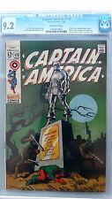 Captain America #113 CGC 9.2 NM-  Jim Steranko Cover