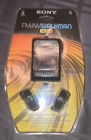 NOS Vintage Sony SRF-39 Sports Walkman Tuner AM/FM Radio NEW RARE Sealed NEW!