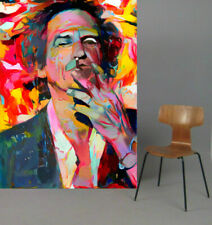 Motiv Keith Richards Rock XXL100x142,6 cm Arcylglas 5 mm PopArt/Poster/StreetArt