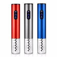 Wine Bottle Opener Aluminum Alloy Electric Wine Corkscrew Automatic Accessories