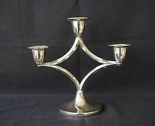Silverplated Mid Century Ianthe Candelabra Candlestick Candle Holder Epns