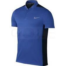Nike Momentum Fly Sphere Blocked Golf Polo Blue/Black 802832-480 Mens Size XL