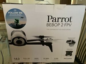 Parrot Bebop 2 FPV Camera Drone - White PF726203 (New in box, unopened)