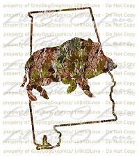 Camo Hog Boar Alabama State Outline Hunter Vinyl Decal Sticker Hunting Car Auto