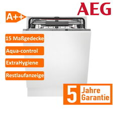 AEG FSE62700P 60cm Vollintegrierter-Geschirrspüler - Silber