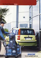 Fiat Panda Van 07 / 2004 catalogue brochure Hongrois Hungarian