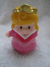 Fisher Price Little People Disney PRINCESS AURORA Sleeping Beauty CASTLE