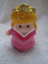 Fisher Price Little People Disney PRINCESS AURORA Sleeping Beauty CASTLE