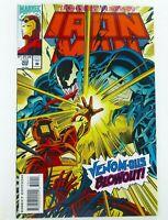 Marvel INVINCIBLE IRON MAN #302 Key VENOM Appearance NM (9.4) Ships FREE!