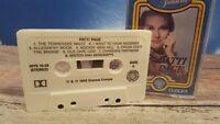 Timeless Treasures by Patti Page Country Cassette Tape 1983