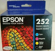 Epson 252 DURABrite Ultra Color/Black Combo 4 Pack ink - 10/2020