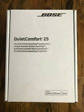 BOSE QC25 QuietComfort 25 Acoustic Noise Cancelling Headphones FOR APPLE DEVICES