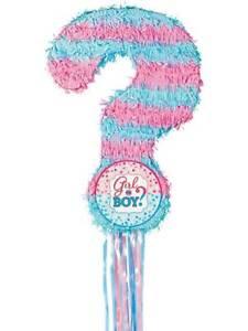 Gender Reveal Pull String Pinata Game Baby Shower Party Birthday Boys Girls Kids