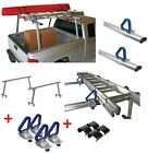 Reese Truck Bed Ladder Rack Rails Bars 800 Lb Protective Glides 4 Load Stops