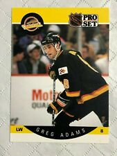 1990 ~ PRO SET HOCKEY ~ VANCOUVER CANUCKS ~ #291-298 ~ EF Condition