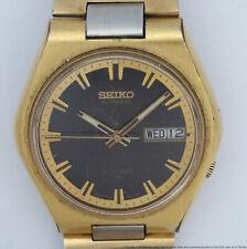 Two Tone Seiko 7009-8079 Automatic Mens Vintage Wrist Watch