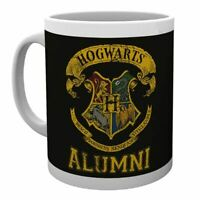 Harry Potter Hogwarts Crest Alumni Ceramic Coffee Mug Tea Cup - Boxed