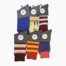 Mens Socks-12 pair socks-argle sock-stripe sock-rugby stripe sock-work sock-3501