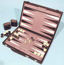 Leatherette Backgammon Set - Ref: 00465