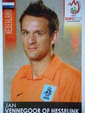 Panini 275 Jan V. of Hesselink Niederlande UEFA Euro 2008 Austria - Switzerland
