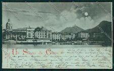 Como Città Battello Chiaro di Luna cartolina QK3010
