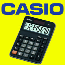 Casio MX-8B BLACK Ideal Student Home Business Office Workers Desk Top Calculator