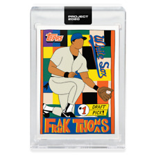Topps PROJECT 2020 Card 96 - 1990 Frank Thomas by Fucci