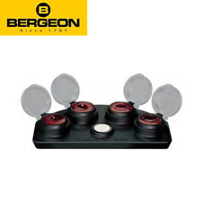 Bergeon 30180-A 4 Oil Cup Stand in Die-Cast Alloy