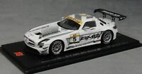 Spark Mercedes-Benz SLS AMG GT3 Macau GT Cup Winner 2014 Maro Engel SA068 1/43