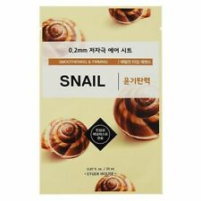 ETUDE HOUSE 0.2 Therapy Air Snail Smoothing Firming Radiance Face Mask Pack 5EA