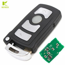 4 Button Smart Remote Key Fob 315MHz ID7944 for BMW CAS1 7 Series FCC: LX 8766 S