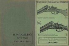 S. Nakulski 1928 Fabrykabroni - Gun Catalog-Gniezno, Poland
