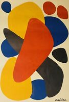 "Today Only $1100 Alexander Calder 'Boomerage Tel Aviv' Original 44""x30""  7-9-21"