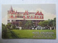 POSTCARD HOTEL ESPLANADE PERTH WESTERN AUSTRALIA 1933 EXCELLENT CONDITION