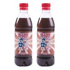 Official Slush Puppie 2 Pack Frozen Cola Slushie Drink 500ml Maker Syrup