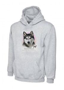 Howard Robinson Siberian Husky  Grey Unisex Hoodie XS-3XLIdeal Dog Lover Gift
