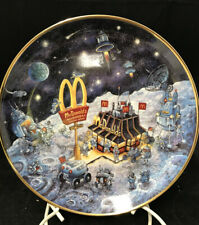 """6 Vintage McDonalds Collector Plates Bill Bell Limited Edition Franklin Mint 8"""""""