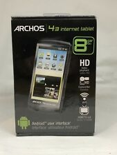 AC3 Archos 43 android Internet Tablet 8GB, Wi-Fi HD Video Playback HDMI Sealed