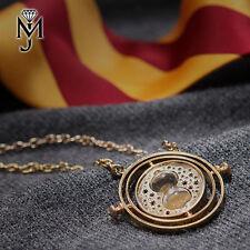 Zeitumkehrer Gold Kette Hermine Zeitumwandler Harry Potter Sanduhr Blitzversand
