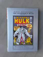MARVEL MASTERWORKS: INCREDIBLE HULK VOL 1 VO EXCELLENT ETAT / NEAR MINT