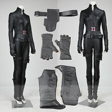 The Avengers 1 Cosplay Black Widow Natasha Romanoff Cosplay Costume Full Set