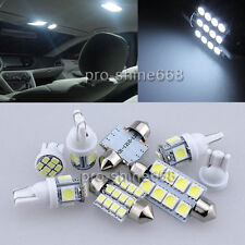 14X Bulbs LED Interior Lights Package kit For 2011 Ford Crown Victoria White NQ