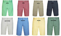 EX M&S MEN'S BLUE HARBOUR 100% COTTON SHORTS ADJUSTABLE WAISTBAND 8 COLOURS