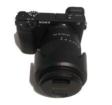 Sony Alpha A6400 24.2 MP Digital Mirrorless Camera - Black With Extras