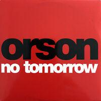 Orson CD Single No Tomorrow - Promo - Europe (EX+/M)