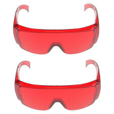 2 Pairs Dental Protective Safety Goggles Glasses for Whitening Light Lamp