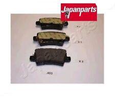 PP403AF Kit pastiglie freno a disco posteriore Honda Civic VII (JAPANPARTS)