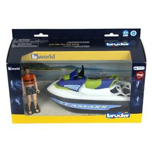 1/16 Personal Water Craft with Driver by Bruder BWorld 63151
