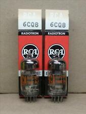 (2) NOS 6CQ8 Vacuum Tubes - RCA